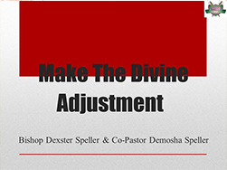 Make-The-Divine-Adjustment