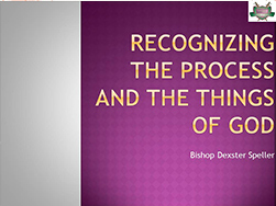 Recognizing-the-Process-and-the-things-of-God