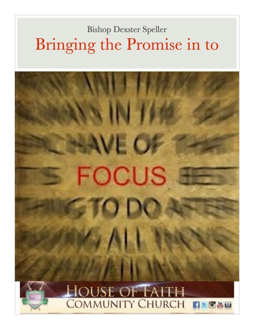 Bringing the Promise in to Focus